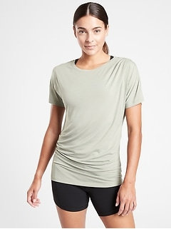 Essence Pleated Tee