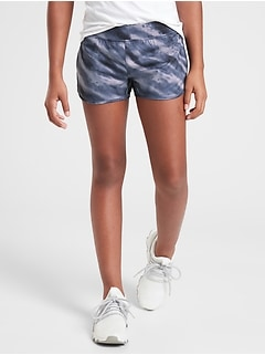 "Athleta Girl Printed Need For Speed 2.5"" Short"