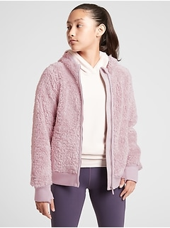 Athleta Girl So Snug Sherpa Jacket