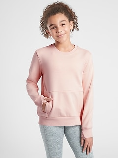 Athleta Girl Crazy Cozy Crewneck Sweatshirt