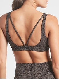 Exhale Moonflower Jacquard Bra A&#45C