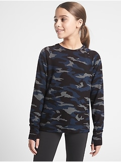Athleta Girl Cozy Cross Your Fingers Sweatshirt