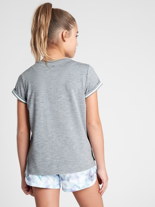 Athleta Girl We Can, We Will Tee