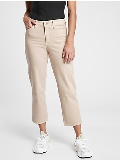 Flex Straight Crop Jean