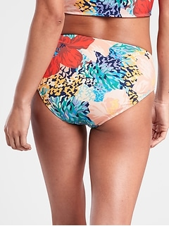 Clean Full Printed Bikini Bottom