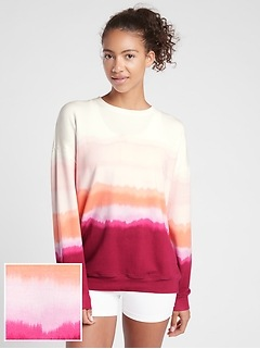 Balance Printed Pullover